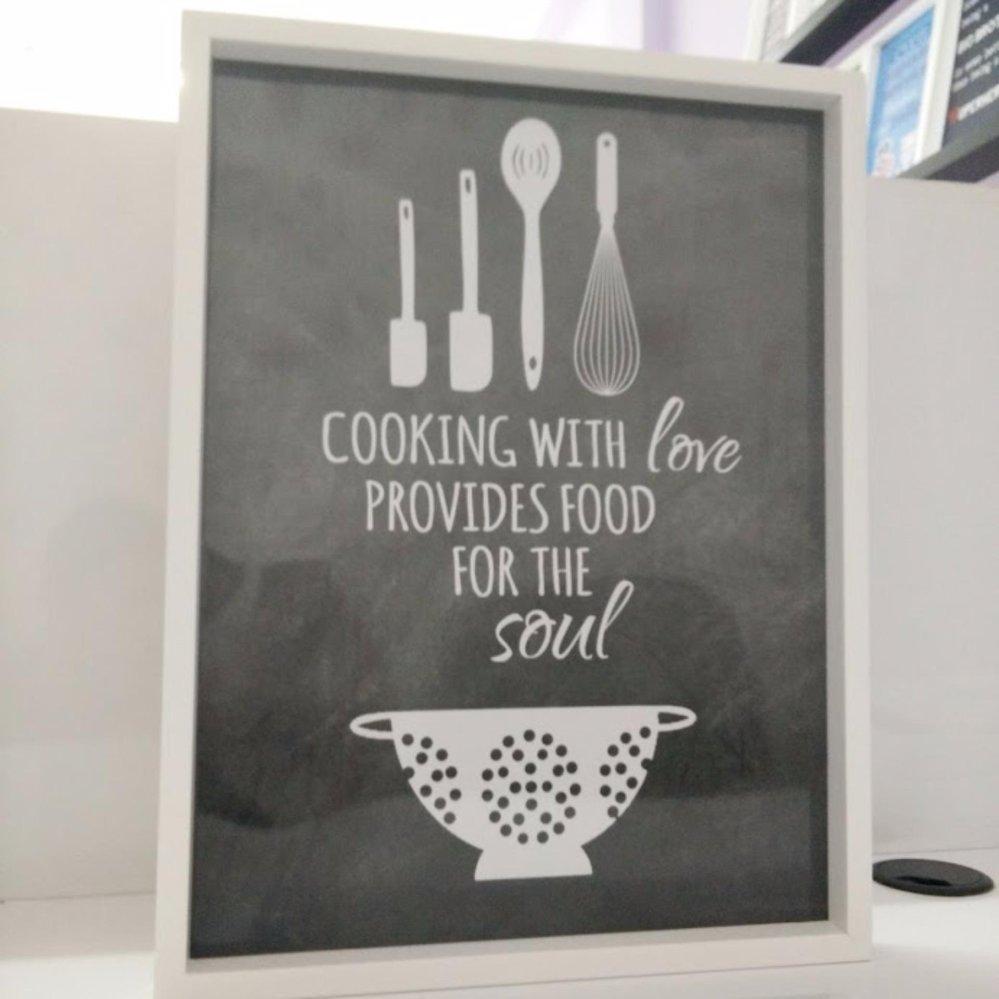 Hiasan Dinding Walldecor Untuk Dapur Dan Kitchen Set Lazada Indonesia