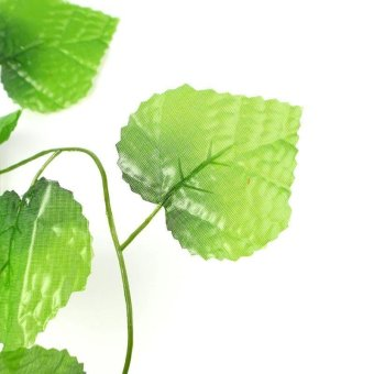 High Quality Store New 7 7ft Artificial Ivy Leaf Garland PlantsVine Fake Foliage .
