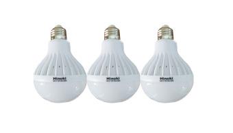 Hinoki Lampu Bholam LED 15 watt 3 pcs