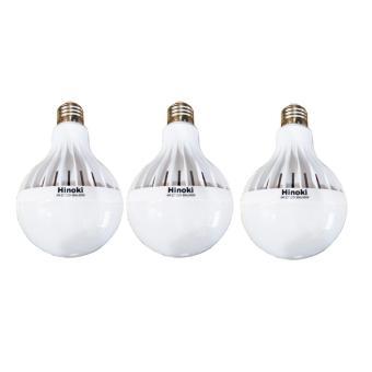 Hinoki Lampu Bholam LED 18 watt 3 pcs