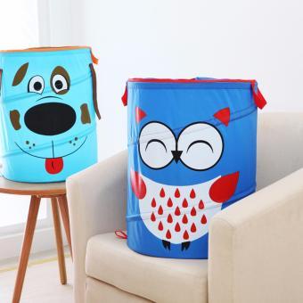 HW Keranjang Pakaian/ Laundry Bag Karakter - Pink - 3