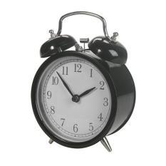 IKEA DEKAD - Alarm Clock - Jam Beker - HItam - 1 Pcs