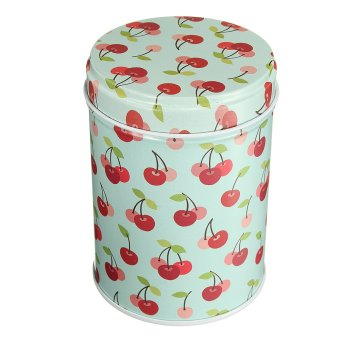 Harga Double Cover Tea Storage Tins Canister Box Caddy Sugar Candy Coffee 01