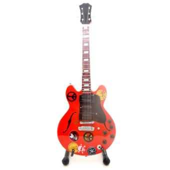 Harga Whiz Miniature Guitar Alvin Lee Ten Years After - Gibson ES-335 Big Red Custom Signature Gitar - Merah