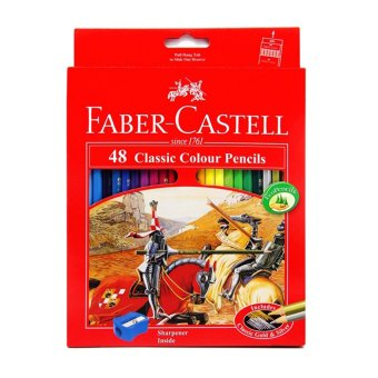 Harga Faber-Castell Pensil Warna Classic colour pencils Long 48 PCS