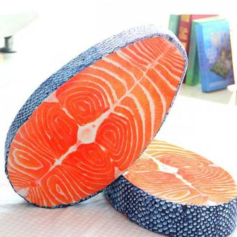 Salmon Pillow Seat Cushion Creative Design Home Pillow - intl