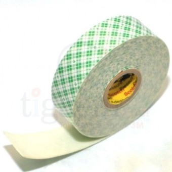 Harga 3M Scotch Tape 4032 Mounting Tape / Double Coated Urethane Foam Tape Off-White, 24 mm x 4.5 m - 1 Each