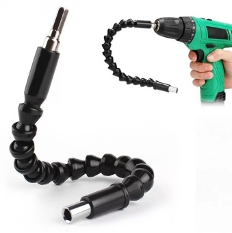 Harga Flexible Electric Drills Shaft Bits Connect Link Extension Screwdriver Bit Holder