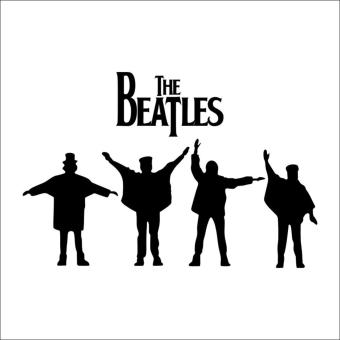 Fancyqube Beatles Wall Decals New Designs Removabl Music The Beatles Vinyl Wall Stickers Home Decor Wall Art Decals - intl