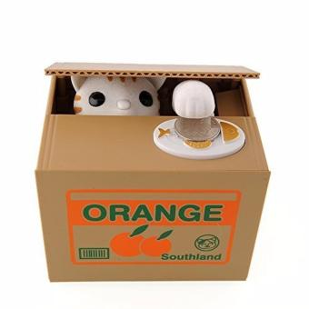 Harga Cute Automatic Stealing Coin Money Box - intl