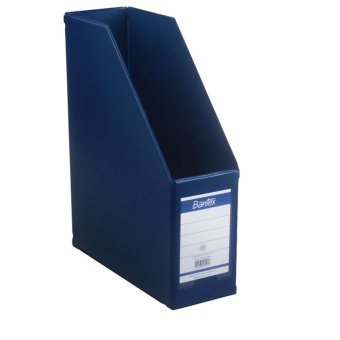 Harga Bantex Magazine File (Box File) 10cm Folio Blue #4011 01