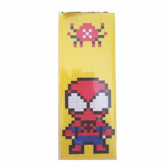 Harga BAJUUNIQKU KOTAK PENSIL LEGO SPIDERMAN - KUNING LEGO PENCIL CASE DIY