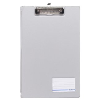 Harga Bantex Clipboard With Cover Folio Grey #4211 05