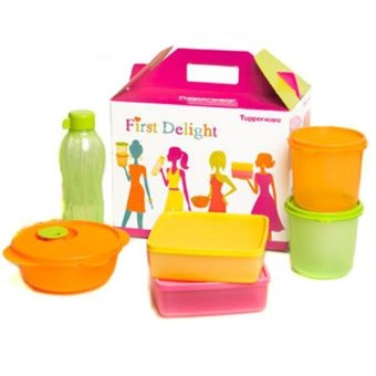 Harga Tupperware First Delight 6 Pcs