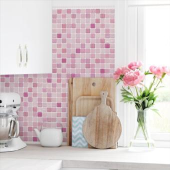 Harga WallPaper WallSticker CORAL FABRIC ALT16 3D Home Kitchen BEAUSTILE KOREA