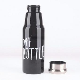 Harga MY BOTTLE_BOTOL MINUM 450ML_BLACK Raisya 003