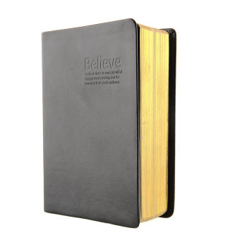 Harga OEM Antique Leather Cover Notebook (Black)