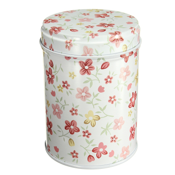 Harga Double Cover Tea Storage Tins Canister Box Caddy Sugar Candy Coffee Red Flower 03 - Intl