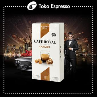 Harga Nespresso - Caramel Espresso Cafe Royal Made in Switzerland