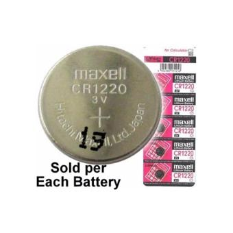 Harga Maxell CR1220 3 Volt Coin Lithium Cell Battery - MXL-CR1220