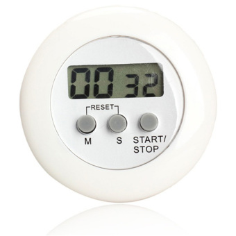 Harga White Sands Timer Masak Dapur Digital / Alarm Minimalis Time Machine