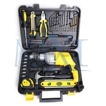 Harga Stanley 13 mm Percussion / Impact Drill - Mesin Bor Beton 13 mm - STDH 7213 (Value Pack)