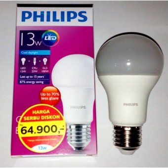 Harga Philips Lampu LED 13 Watt - CDL/Putih