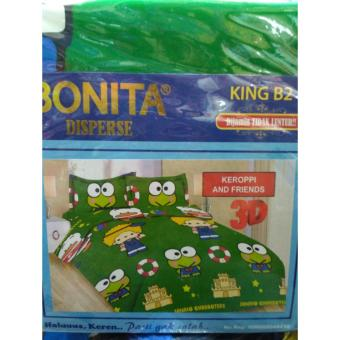Harga Bonita - Sprei King - Keroppi and Friends