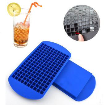 Harga New 160 Ice Cubes Cube Pudding Jelly Silicone Tray Maker Mould Mold Tool