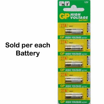 Harga GP 27A Ultra Alkaline 12V Battery - GPB-27A