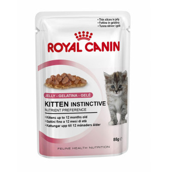Harga Royal Canin Kitten Instinctive Jelly 85 Gr