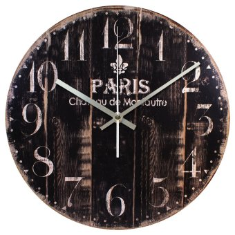 Harga Nail Your Art Jam Dinding Unik Artistik - Paris - Artistic Unique Wall Clock