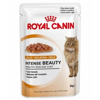 Harga Royal Canin Intense Beauty Jelly 85 Gr