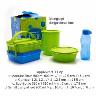 Harga T pop Tupperware