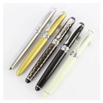Harga 5 buah Jinhao X750 pulpen di tas sederhana warna berbeda dengan pena