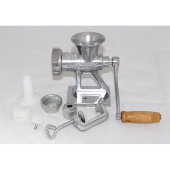Harga Meat Grinder Gilingan Daging Manual - Silver