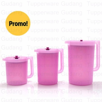 Harga Tupperware Daisy Pitcher Set (3pcs) 1L & 2L & 4L