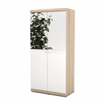 Harga Prissilia Bourbon Wardrobe with Glass