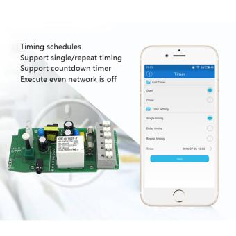 Sonoff TH16A Temperature&Humidity Monitoring WiFi Smart Automation Switch APP WORK WITH ALEXA - intl