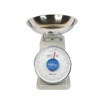 Harga Weston Kitchen Spring Platform Scale 10 kg - Abu-abu