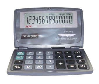 Harga ALFA LINK Store Calculator 14 Digits CD-240 Abu-abu