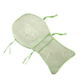 Harga 1PC Exquisite Three-rocking Chair Baby Stroller Mat Mat Mat Bouncer Fisher (Size: 69 cm * 40 cm , Color: Green) - intl