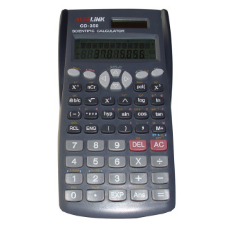 Harga Alfalink Scientific Calculator CD-350 - Abu- abu