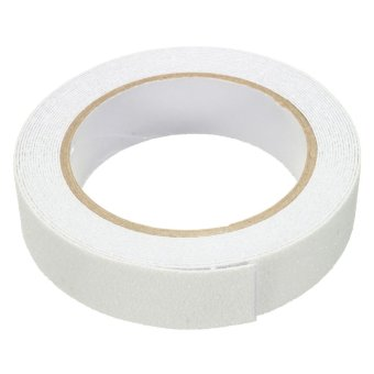 Harga White Bath Shower Anti Slip Tape Non Slip Strips Grip Sticker Floor Safety Grit - intl