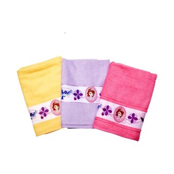 Harga Disney Junior Sofia The First Bath Towel Kuning