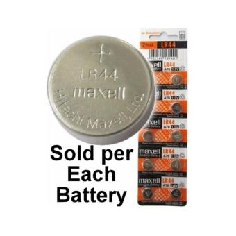 Harga Maxell LR44 (A76, AG13) Alkaline Button Battery - MXL-LR44
