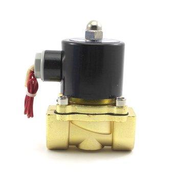 Vanker 220 V Katup Solenoid Listrik Air Gas Minyak Pneumatik Biasanya Ditutup
