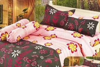 Istanaku Set Bedcover Dan Seprei Stefhanie 180x200 Daftar Harga Source · Vania Set Seprai BGH 301 Pink