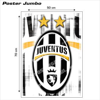 Harga Poster jumbo Logo Juventus FC 02 50 x 70 cm .