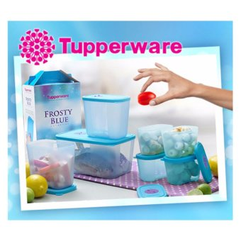 Harga Tupperware Frosty Blue Collection